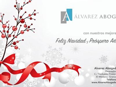 Alvarez Abogados Tenerife les desea Feliz Navidad y Próspero Año 2015