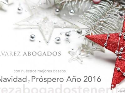 Te deseamos Feliz Navidad y Próspero Año