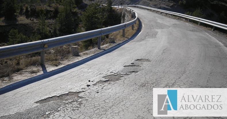 Exigir indemnización por culpa de la carretera