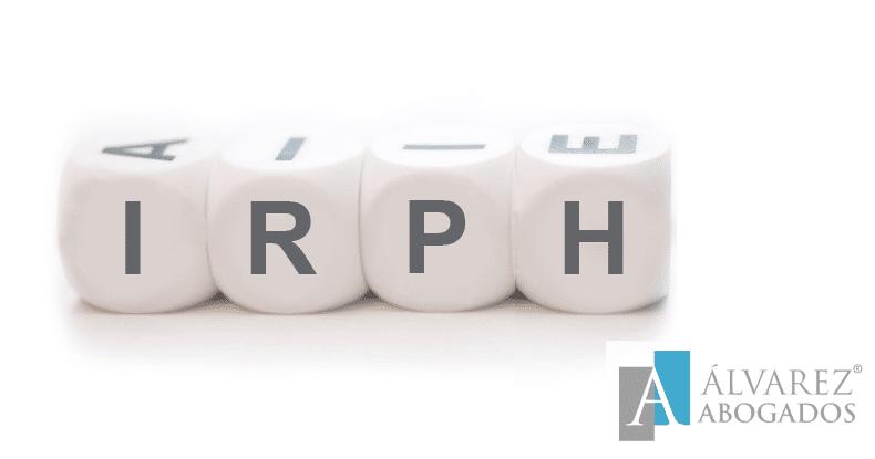 Hipotecados afectados por IRPH
