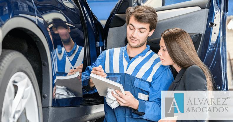 Reclamación taller reparación coches o motos