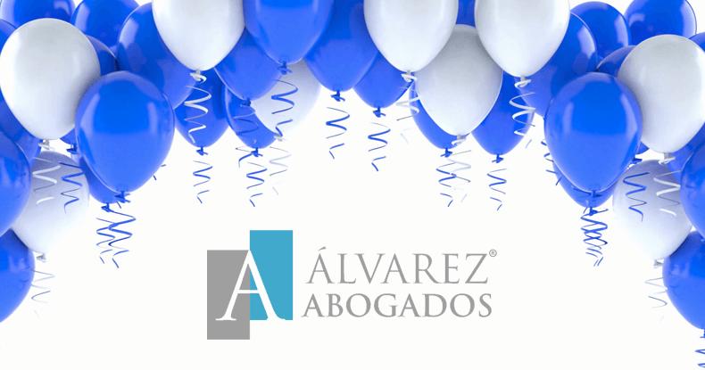 Estamos de Aniversario en Álvarez Abogados