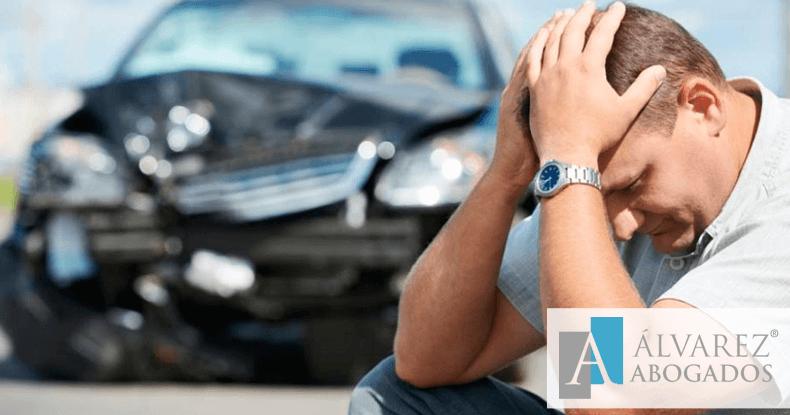 Siniestro total en accidente de tráfico