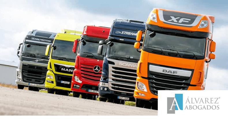 Afectados cártel de los camiones en Canarias