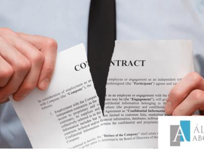 Rescisión de contrato en Tenerife